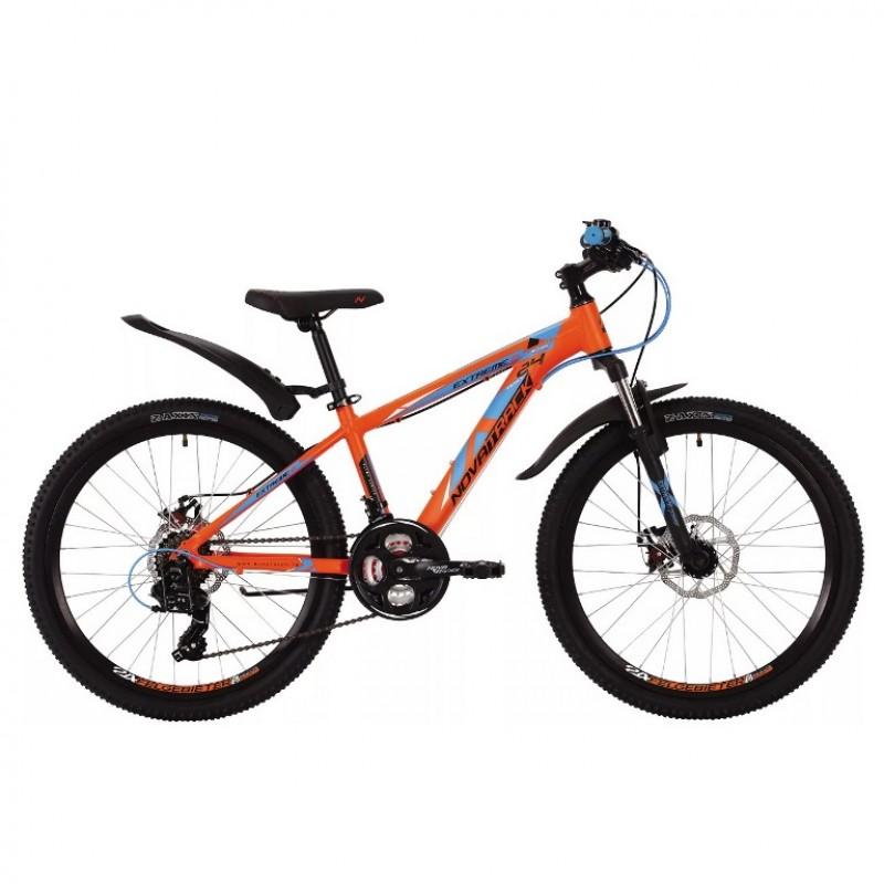 Велосипед 24 Novatrack AHD Extreme 13OR9 21ск. оранж
