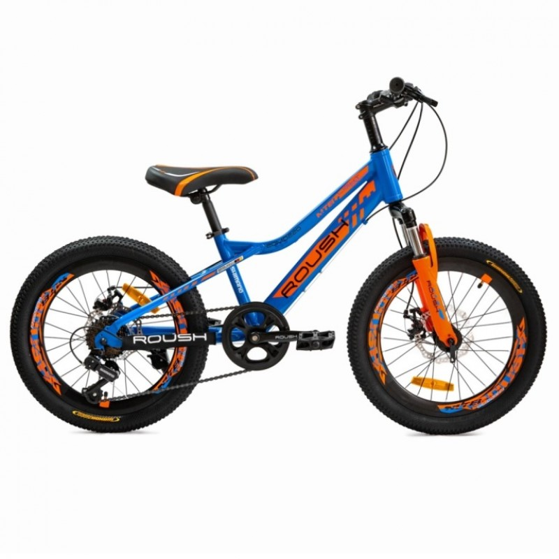 Велосипед 20 Roush 20MD220-1 цвет: синий глянец АКЦИЯ!!!