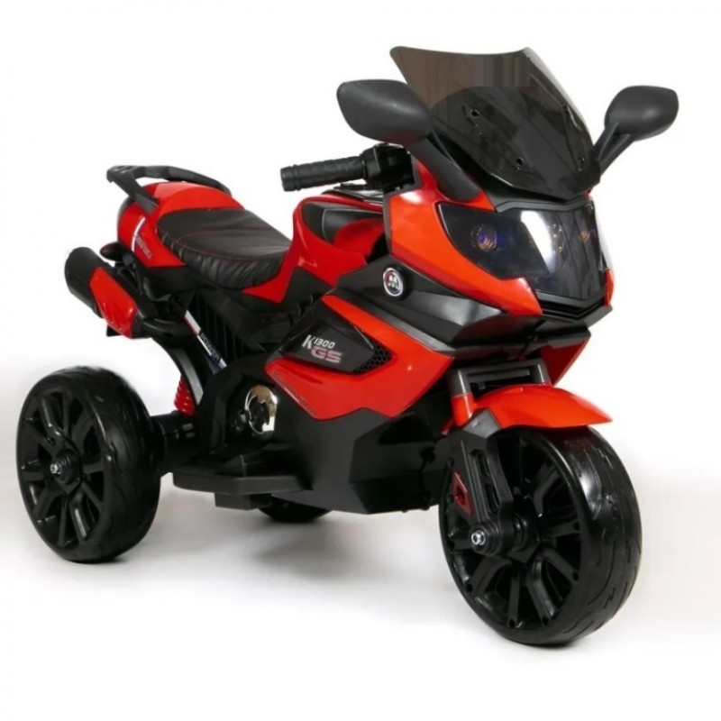 Электромотоцикл детский Мотобайк 47107 (Р) красный