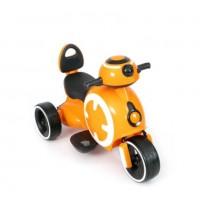 Электромотоцикл детский 52211 желтый
