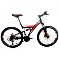 Велосипед 24 Roush 24MD100-2 красный матовый