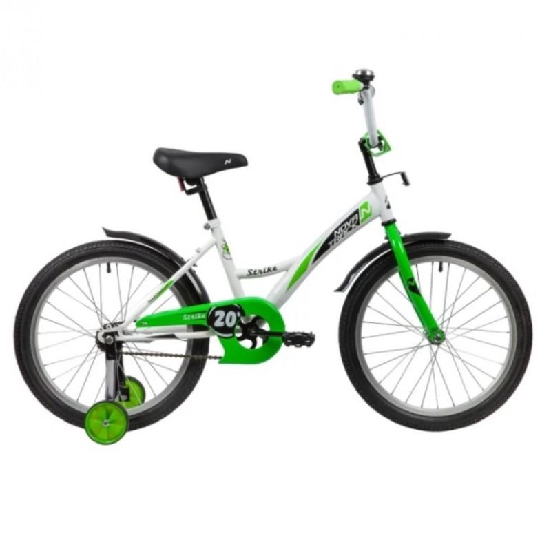 Велосипед 20 Novatrack Strike WTG20  бел/зел