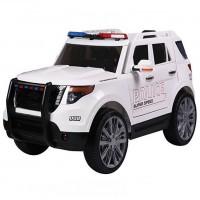 Электромобиль детский Ford ПОЛИЦИЯ 45445 (Р) белый