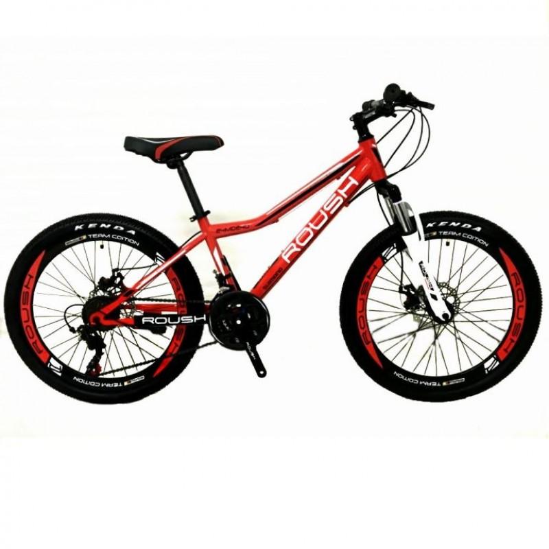 Велосипед 24 Roush 24MD240-2 красный матовый