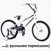 Велосипед 16 Nameless Sport, белый/черный