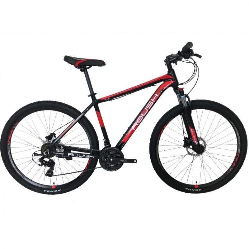 Горный велосипед Roush 29HD210 AL PRO-2 крансый матовый (ГИДРАВЛИКА АЛЮМИНИЙ)