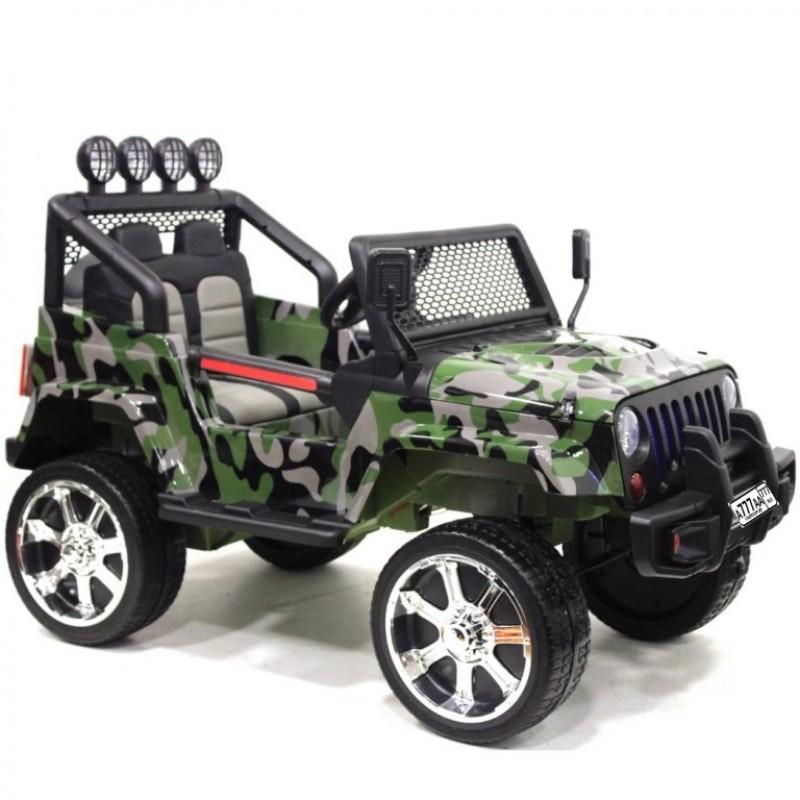 Детский электромобиль Jeep 50102 (4х4) Камуфляж (P)