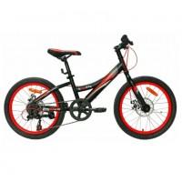 Велосипед 20 Nameless S2300D-BK/OR-11, чёрный/оранжевый