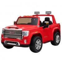 Электромобиль детский Ford GMC 50370 (Р) 4WD двухместный вишнёвый глянец