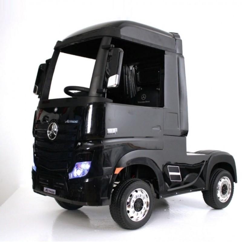 Детский электромобиль Mercedes-Benz HL358 Actros (Р) чёрный глянец