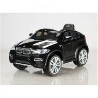 Электромобиль детский BMW X6 45547 (Р) черный глянец