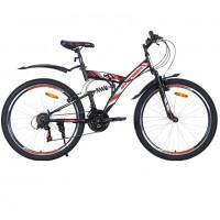 Велосипед 26 Avenger F260 чер/оранжевый неон  18