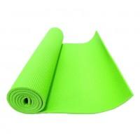 Коврик для фитнеса (йога) зеленый 4мм