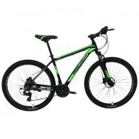 Велосипед 29 Roush 29HD210 AL PRO-3 зелёный матовый