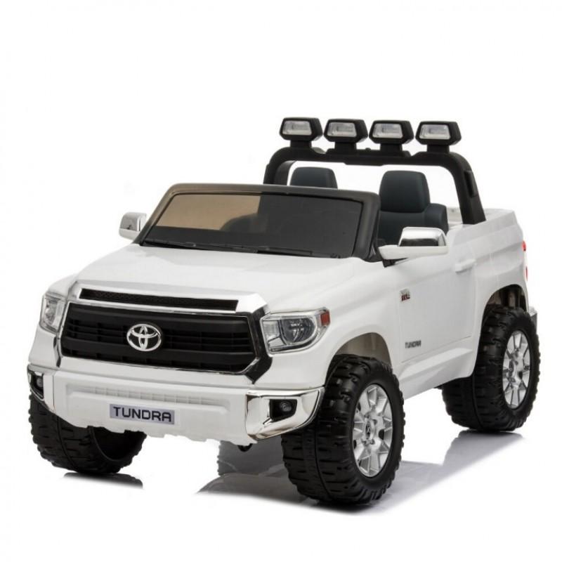 Электромобиль детский TOYOTA TUNDRA BIG  51647 (Р) (Лицензионная модель) белый