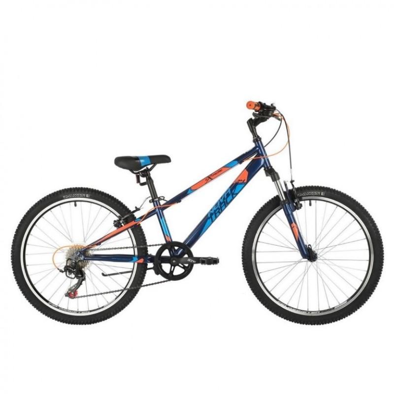Велосипед 24 Novatrack AHV Extreme 11BL9 21ск. синий