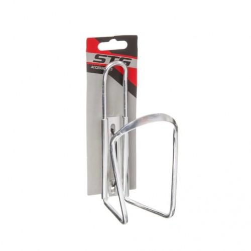 Флягодержатель STG HX-Y14 алюминиевый  серебристый