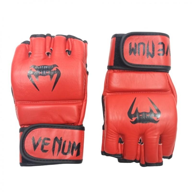 Перчатки для MMA VENUM (L) красные