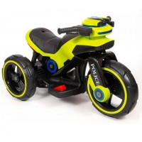 Электромотоцикл детский Y- MAXI Police 49366 (Р) салатовый