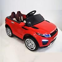 Электромобиль детский Range Rover 33443 12в р-у откр.дв оранж кол.рез