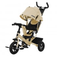Детский 3-х колёсный велосипед 641481  Comfort 10*8 AIR, бежевый
