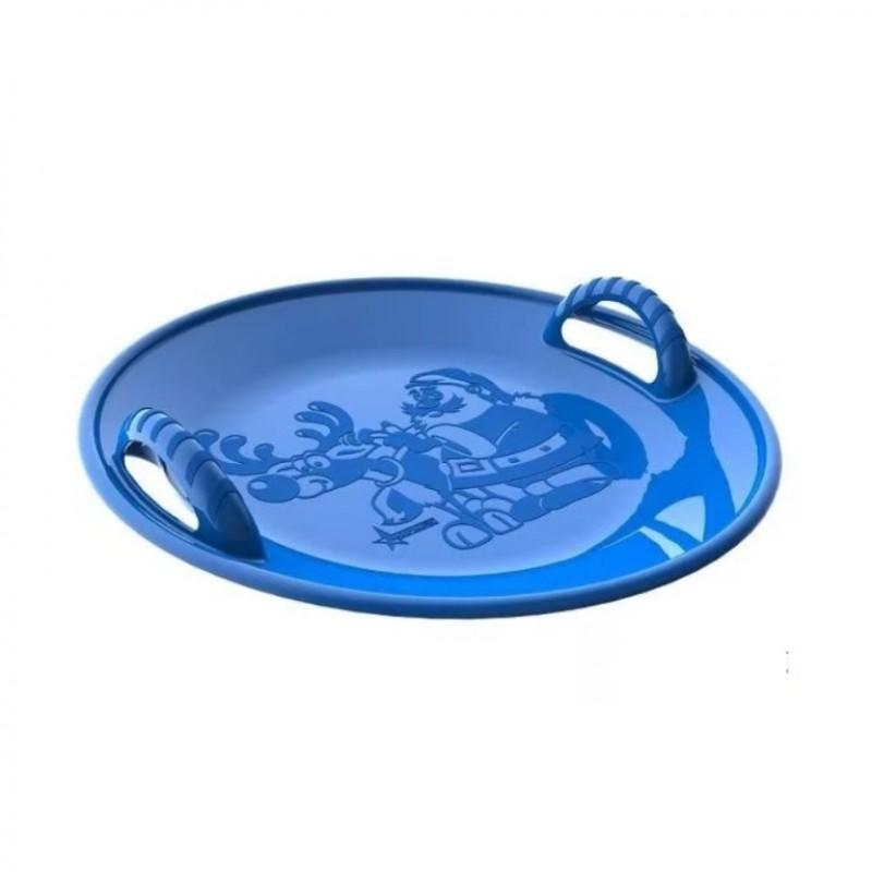Ледянка  125/3  кругл. 58см  пластмас. синяя