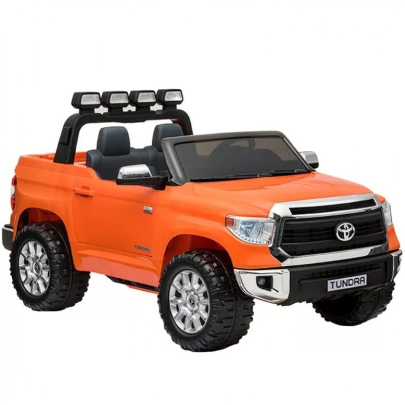 Электромобиль детский TOYOTA TUNDRA BIG  51648 (Р) (Лицензионная модель) оранжевый