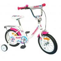 Велосипед 20 Nameless PLAY, белый/фиолетовый