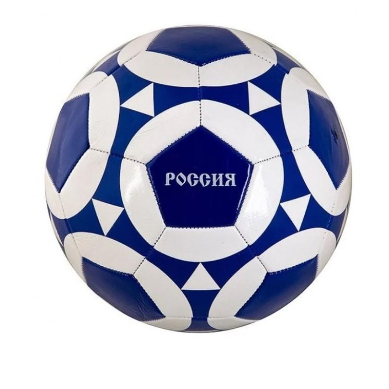 Мяч  T88633  Футбольный, 280/300гр.,№5 ,PVC. глянец 1слой Россия