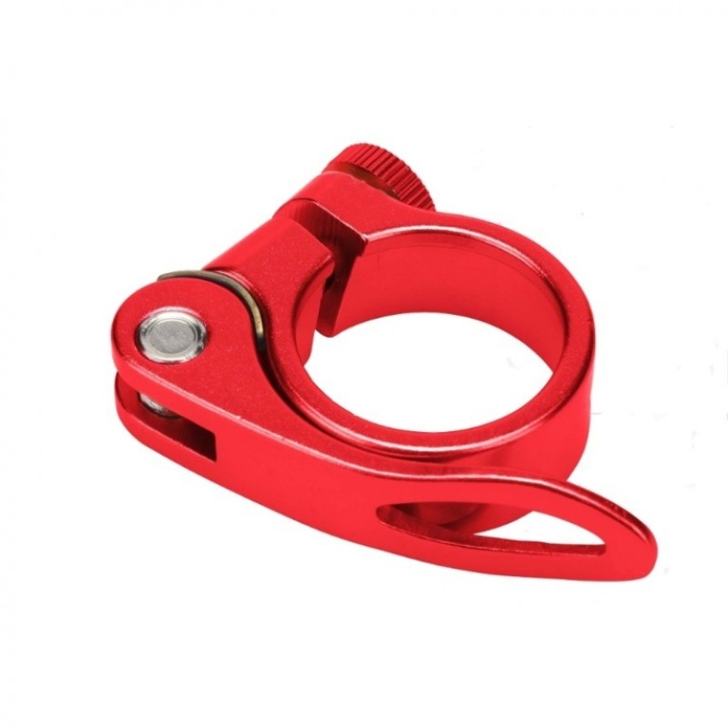 Зажим BLF-Z1 34.9мм подседельной трубы эксцентрик алюминевый красный