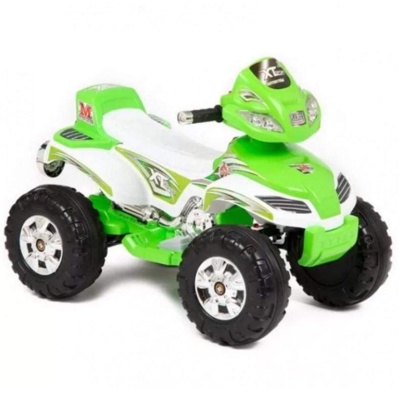 Детский электроквадроцикл 49112  зелёный