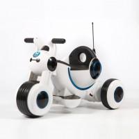 Электромотоцикл детский Y-MAXI YM77  50493 (Р) белый, глянцевый