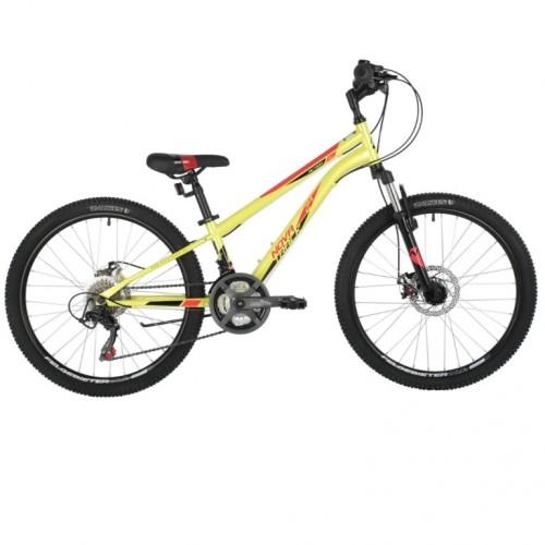 Велосипед 24 Novatrack 24SH18SD.ACTION.11GN21 18ск.зелёный