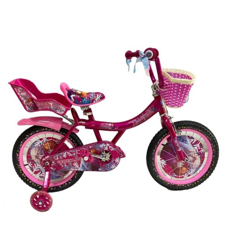 Велосипед 16 OSCAR GOLDEN LADY розовый