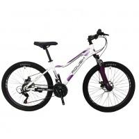 Велосипед 24 Roush 24MD230-3 бело-фиолетовый
