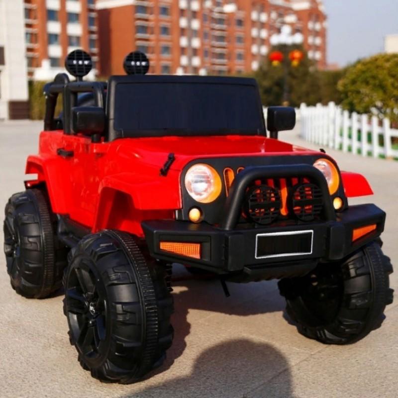 Электромобиль детский Jeep T333MP 50507 (Р) полный привод (4х4) красный