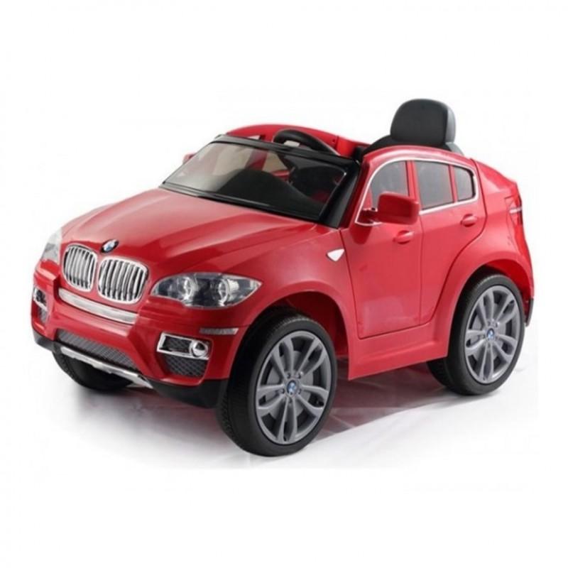 Электромобиль детский BMW X6 45545 (Р) красный