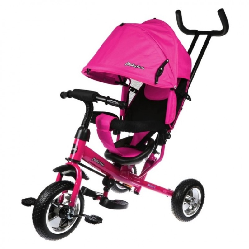 Детский 3-х колёсный велосипед 641338  Start 10*8 EVA, розовый
