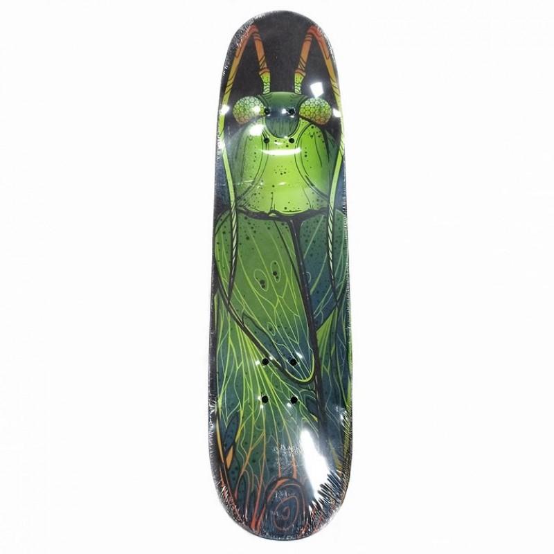 Скейтборд  ТТ  Vulcan 1/6 жук зелёный