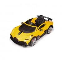 Электромобиль детский Bugatti DIVO HL338 51705 (Р)  (Лицензионная модель) жёлтый глянец