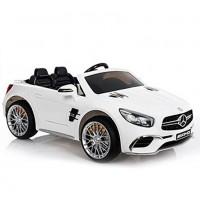 Электромобиль детский Mercedes-Benz SL65 45409 (Р) белый глянец