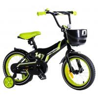Велосипед 14 Nameless Cross, чёрный/зелёный