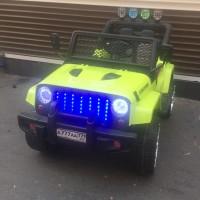 Электромобиль детский Jeep 43358 (4х4)  зеленый