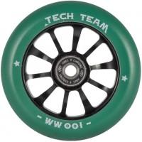 Колесо  100мм X-Treme  для самоката,Winner , зелёное