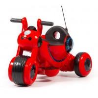 Электромотоцикл детский Y-MAXI YM77  50494 (Р) красный, глянцевый