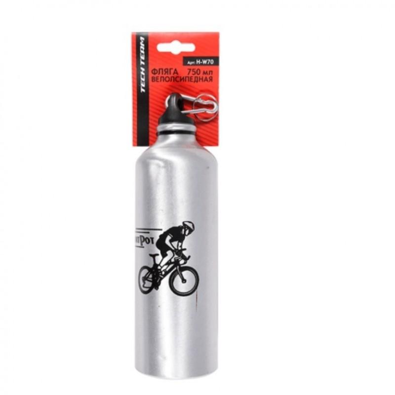 Велофляга  H-W70  750 мл с копачком от пыли
