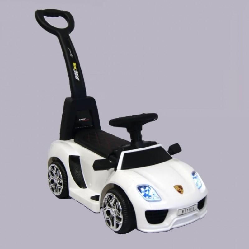 Каталка-электромобиль  Porshe 50549  толокар белый