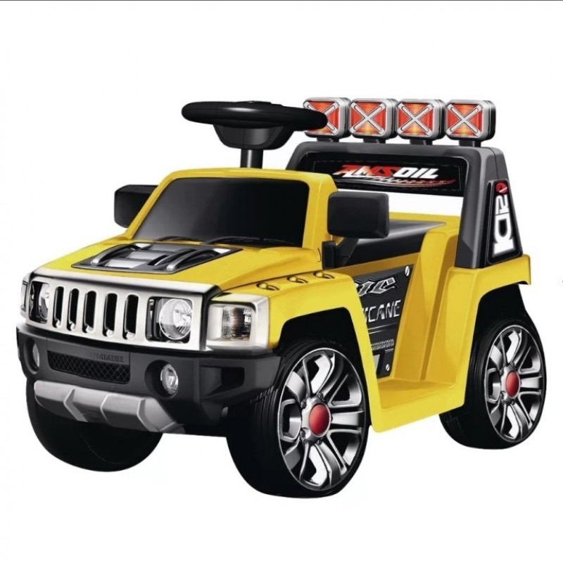 Электромобиль детский Hummer 45522 Hummer желтый, глянцевый