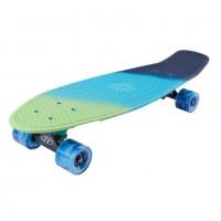 Скейтборд  ТТ Tricolor 27 1/6 TSL-402M пластик sea blue/blue