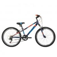 Велосипед 24 Novatrack AHV Extreme 11BL9 21ск. синий  АКЦИЯ!!!